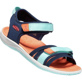 Keen Verano Sandals Kids, black iris/blue tint